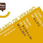 Horario-Verano-clinica-pias