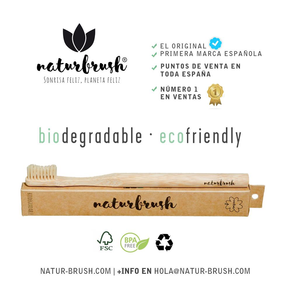 Cepillos De Dientes De Bambú Higiene Y Medio Ambiente