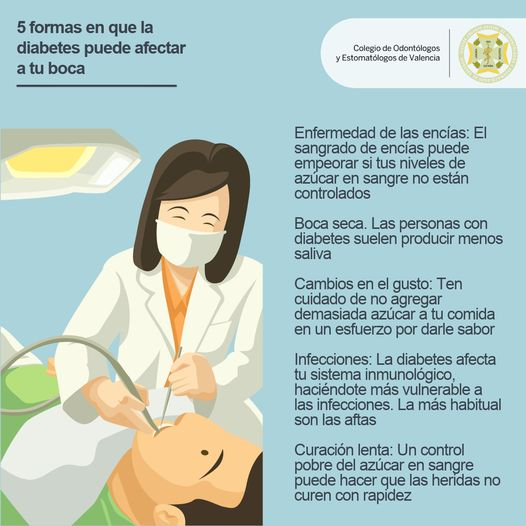 diabetes- encías-pias clinica dental